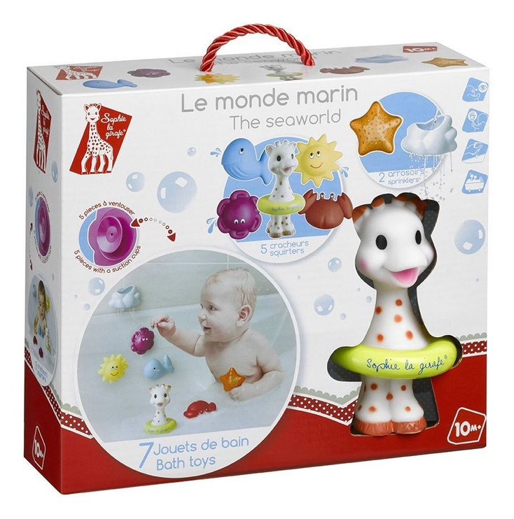 Игрушка для ванны Vulli Sophie La Girafe Sophies Sea World 523428