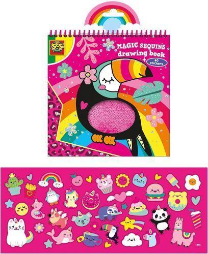 SES Creative Magic Sequins Colouring Book