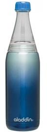 Aladdin Fresco Twist & Go Thermos Bottle 0.6l Blue