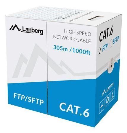 Lanberg Patch Cable FTP CAT6 305m Grey