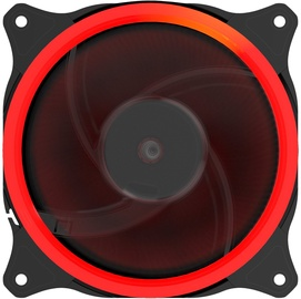 Gembird PC Case Fan With 16 LED Red