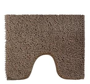 Saniplast Glam Toilet Mat 55x50cm Dark Brown
