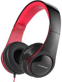 Ausinės Vivanco SR 660 Black/Red