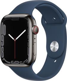 Nutikell Apple Watch Series 7 GPS + LTE 45mm Stainless Steel, must