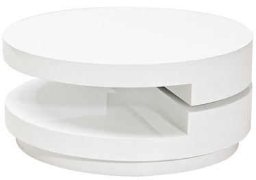 Kohvilaud Signal Meble Fabiola White, 800x800x370 mm
