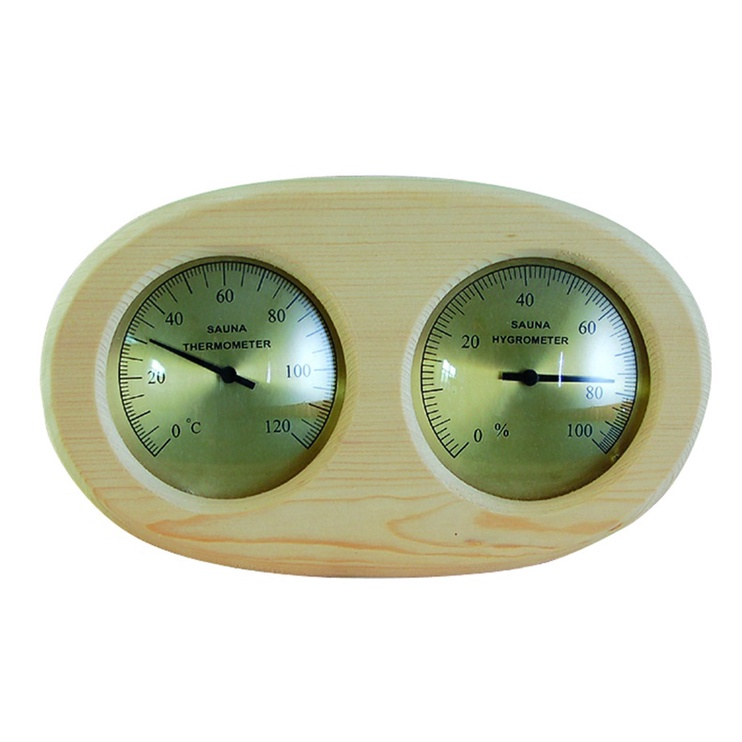 Pirts termometrs ar mitruma mērītāju Flammifera AP-007BW