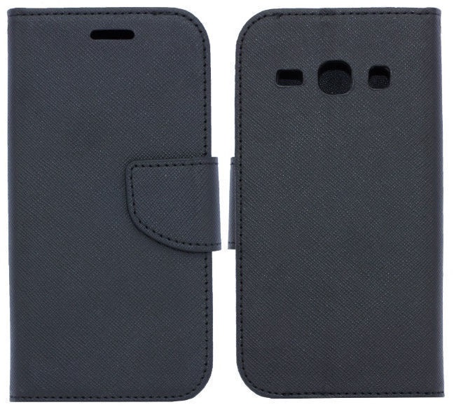 Telone Fancy Diary Bookstand Case For Samsung Galaxy Xcover 4 Black