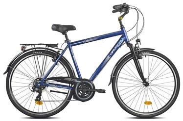"Dviratis VirosPro Sports 6200U Life Comfort, mėlynas, 28"""