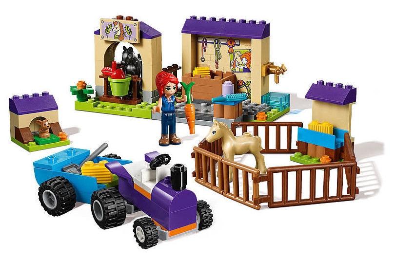 Konstruktorius Lego Friends Mia's Foal Stable 41361