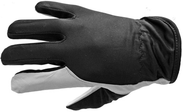 Diana Gloves Smooth Leather With Nylon 9