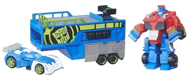 Hasbro Rescue Bots Optimus Prime Racing Trailer B5584