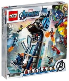 Konstruktorius LEGO®Super Heroes 76166 Keršytojų bokšto mūšis