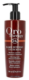 Kaukė plaukams Fanola Oro Therapy Rame Intenso Color Mask, 250 ml