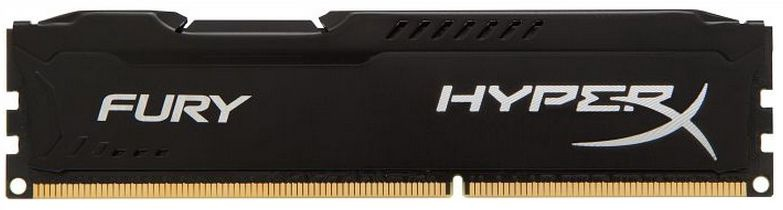 Kingston 4GB DDR3 PC12800 CL10 DIMM HyperX Fury Black HX316C10FB/4