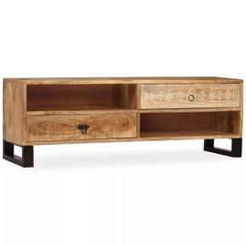 TV-laud VLX Solid Mango Wood 244940, pruun, 300 mm x 1200 mm x 400 mm