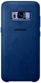 Samsung Alcantara Back Cover For Samsung Galaxy S8 Plus Blue