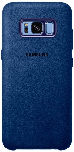 Samsung Alcantara Back Cover For Samsung Galaxy S8 Plus Blue