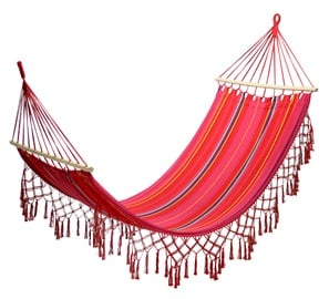 Home4you Romance Cotton Hammock Red