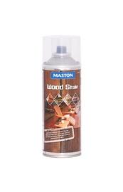Aerozolinis beicas Maston Wood Stain, tamsiai rudi, 400 ml