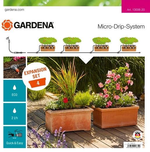 Gardena Micro-Drip-System Expansion Set Planters