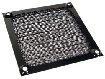 Ohne Hersteller Aluminum Fan Filter 80mm Black