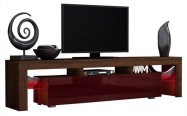 Pro Meble Milano 200  With Light Walnut/Red