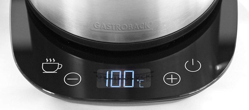 Электрический чайник Gastroback 42426, 1.7 л