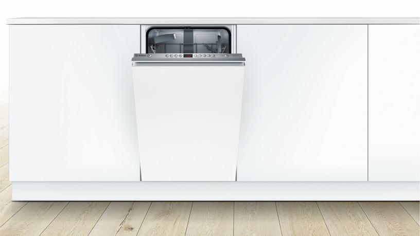 Įmontuojama indaplovė Bosch SPV44IX00E
