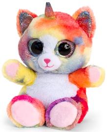 Keel Toys Animotsu Rainbow Unikitten 15cm