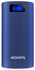 Ārējs akumulators ADATA P20000D Dark Blue, 20000 mAh