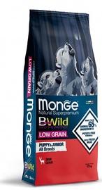 Сухой корм для собак Monge BWILD Low Grain Puppy & Junior Deer, 12 кг
