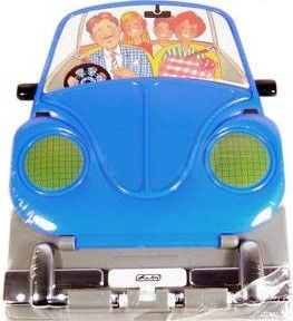 Herlitz Car Book Pad Blue