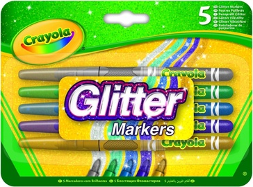 Crayola Glitter Markers 5pcs