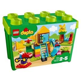 Konstruktorius LEGO Duplo,  Didelė žaidimų aikštelės kaladėlių dėžutė 10864