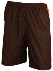 Bars Swimming Shorts Black/Orange 204 2XL