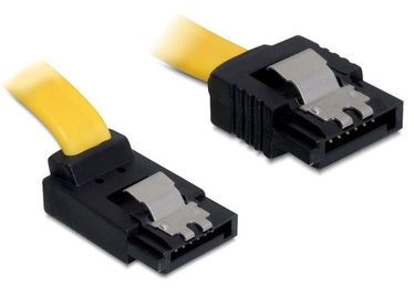 Delock Cable SATA 3 to SATA 3 Yellow 0.3m