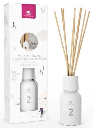 Cristalinas Colourtherapy Reed Diffuser 125ml Magnolia/Jasmine