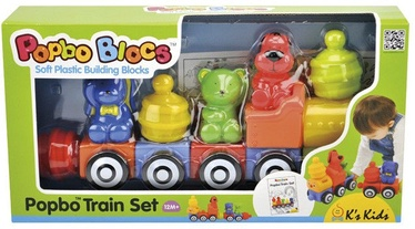 Klucīši K's Kids Popbo Train Set KA10654