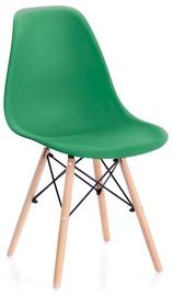 Стул для столовой Homede Margot Chairs 4pcs Dark Green