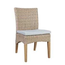 Home4you Henry Garden Chair 47x60x87cm Beige