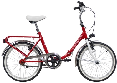 Dviratis Bottari Dolcevita Red, 20""