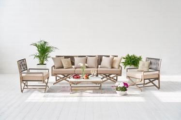 Sodo baldų komplektas Masterjero City Lounge, 8 dalių