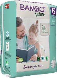 Mähkmed Bambo Nature Classic Diapers S6 20