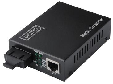 Optiline muundur Digitus Fast Ethernet Media Converter RJ45/SC