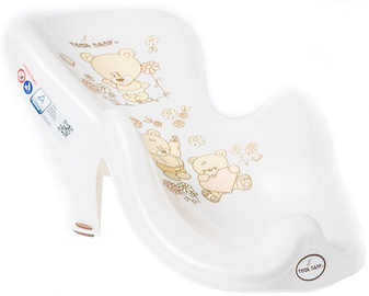Tega Baby Anti-Slip Bath Seat Teddy Bear MS-003 Pearl Beige