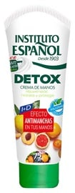 Rankų kremas Instituto Español Detox, 75 ml