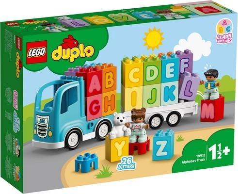 Konstruktors LEGO® My First 10915 Kravas auto ar burtiem
