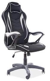 Biroja krēsls Signal Meble Zenvo, melna/pelēka