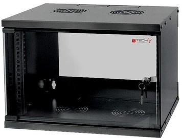 "Серверный шкаф Techly Wall Rack Cabinet 19"" 6U D450 Black Assembled"