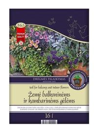 Žemė balkoninėms ir kambarinėms gėlėms, 16 l